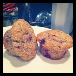 Wheat free raspberry muffins