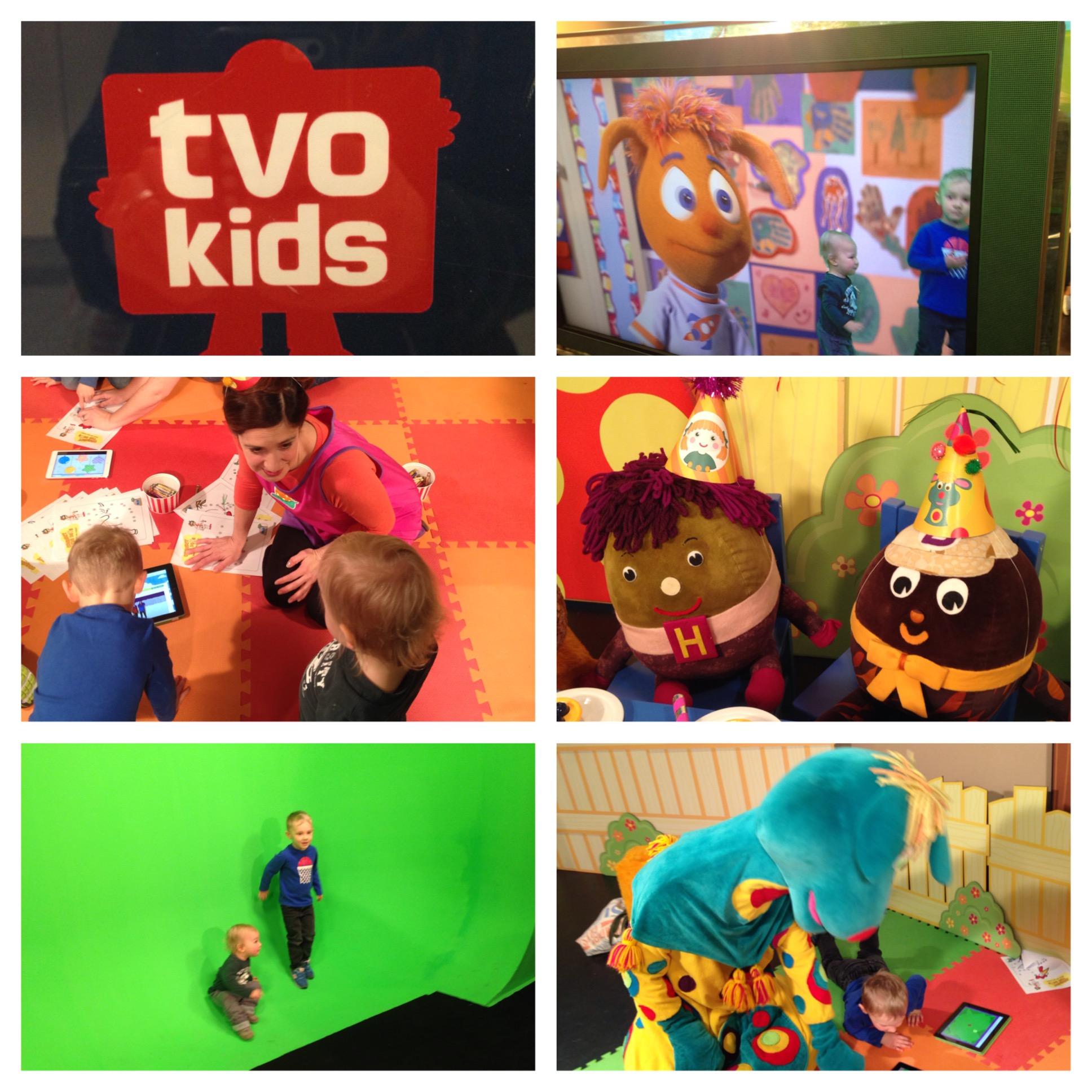 Our fun morning at TVO Kids